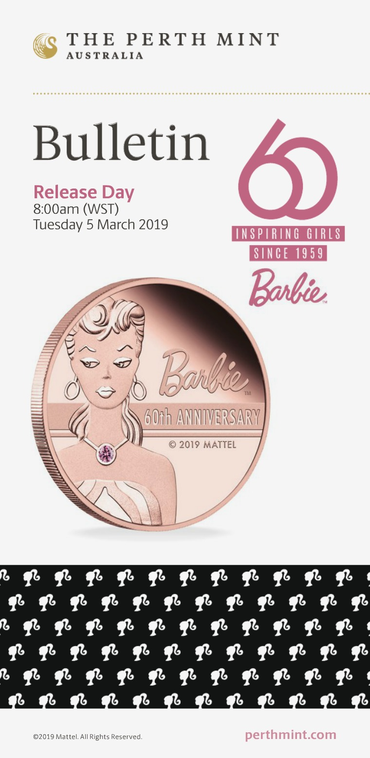 The Perth Mint The Perth Mint 2019 March Coin Bulletin