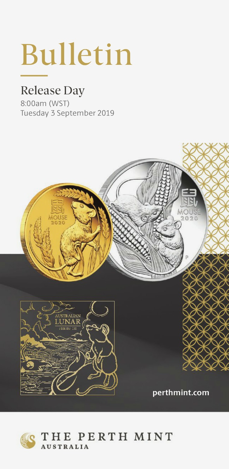 The Perth Mint 2019 September Coin Bulletin