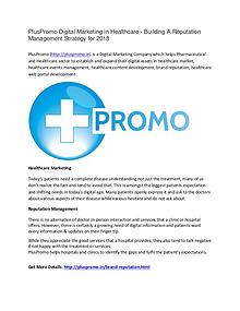 PlusPromo Digital Marketing in Healthcare 2018