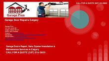 Garage Pros - garage door repairs - Calgary Alberta