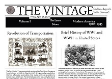 The Vintage NewsPaper