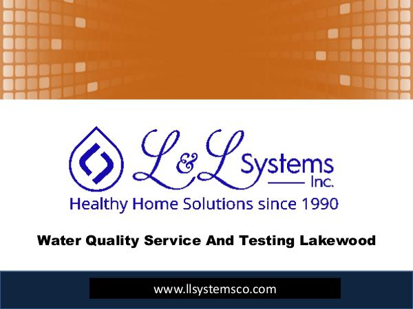 Water Treatment Companies Denver Water Quality Service And Testing Lakewood