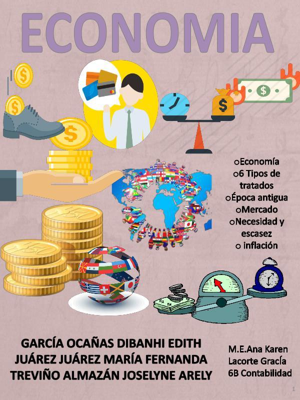 Revista digital de economía- 6B Contabilidad REVISTA-DE-ECONOMÍA