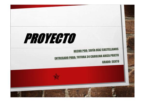 PROYECTO SOLUCIÓN DE CONFLICTOS Actividad 10 – Entrega final del proyecto