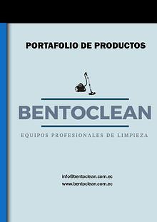Catálogo Bentoclean
