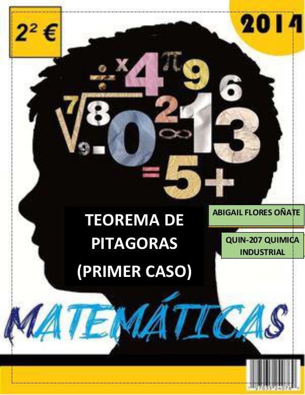 Teorema de Pitágoras revista de matematicas