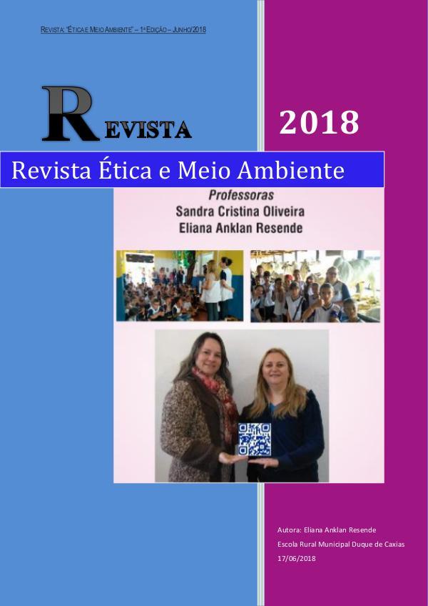 Revista Ética e Meio Ambiente projeto revista