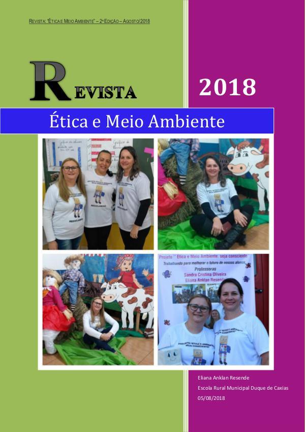 Revista Ética e Meio Ambiente agosto de 2018