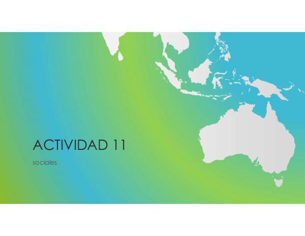 Actividad 11 actividad 11 sociales