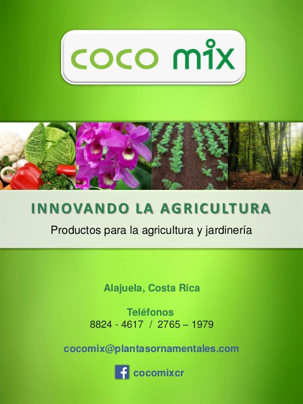 Cocomix - Catálogo de Productos Catalogo Cocomix