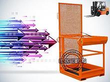 Forklift sepeti fiyati personel tasima platformu
