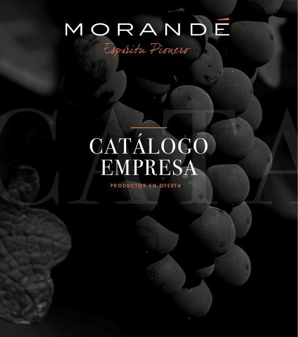 catalogo productos morande 2 CATALOGO DE PRODUCTOS final final