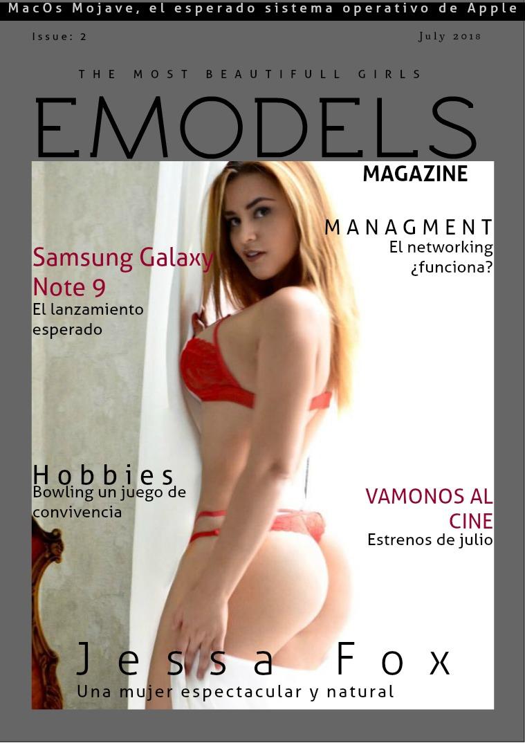 EModels Magazine Julio 2018