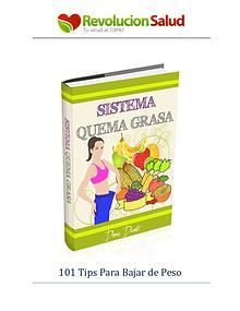 Sistema Quema Grasa PDF, Libro Denis Ducato Gratis