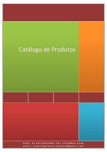 Catálogo Limpeza