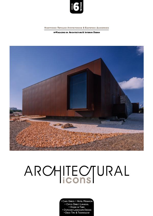 Architectural Icons ISSUE No.6