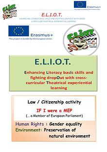 E.L.I.O.T.project_role play _If I were a  MEP