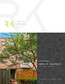 2009A N. Halsted Street - Presented by Rachel Krueger