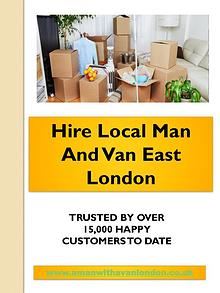 Local Man and van hire