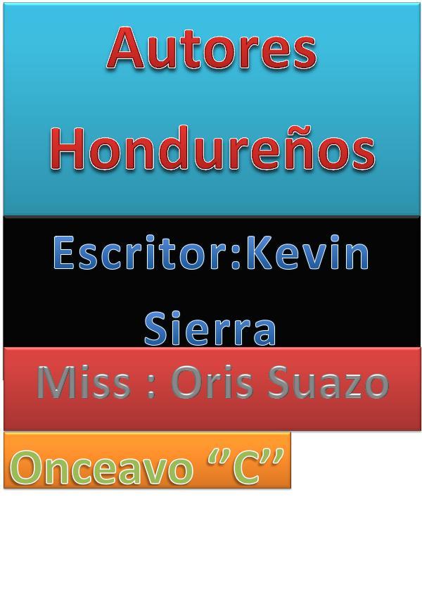 Autores Hondureños proyecto