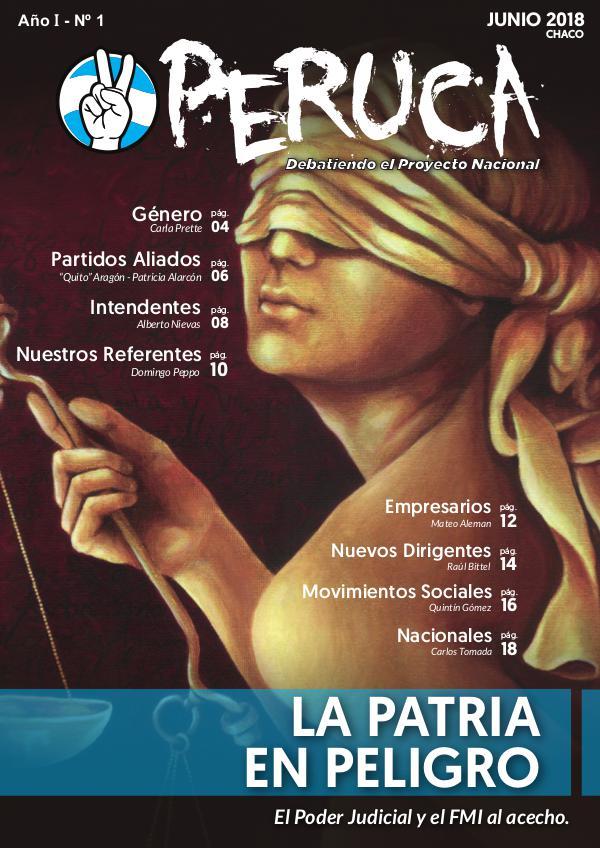Revista PERUCA, Debatiendo el Proyecto Nacional JUNIO 2018 - LA PATRIA EN PELIGRO