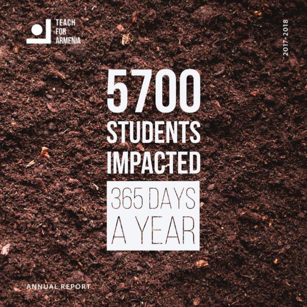 Teach For Armenia_Annual Report 2017-2018