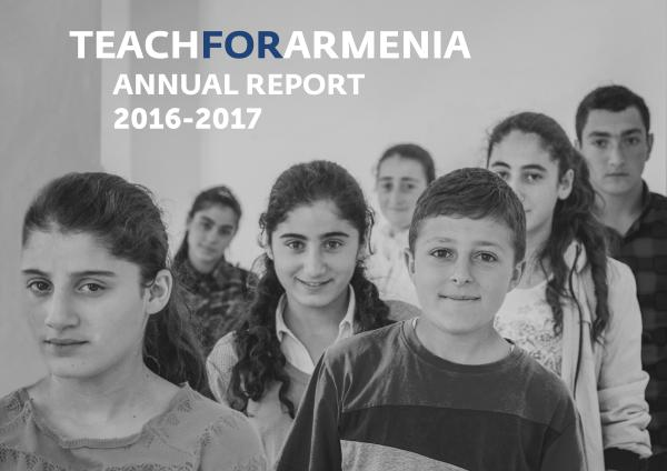Teach For Armenia Annual Report 2016-2017