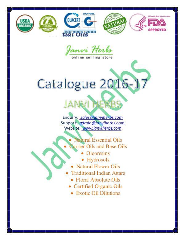 Janvi Herbs Essential Oils Products List Janvi Herbs