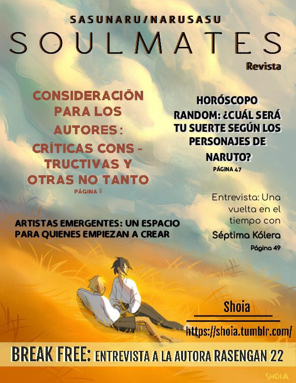 S O U L M A T E S (revista SasuNaruSasu) SOULMATES N°2 REVISTA