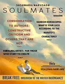 S O U L M A T E S  (SasuNaruSasu Magazine)