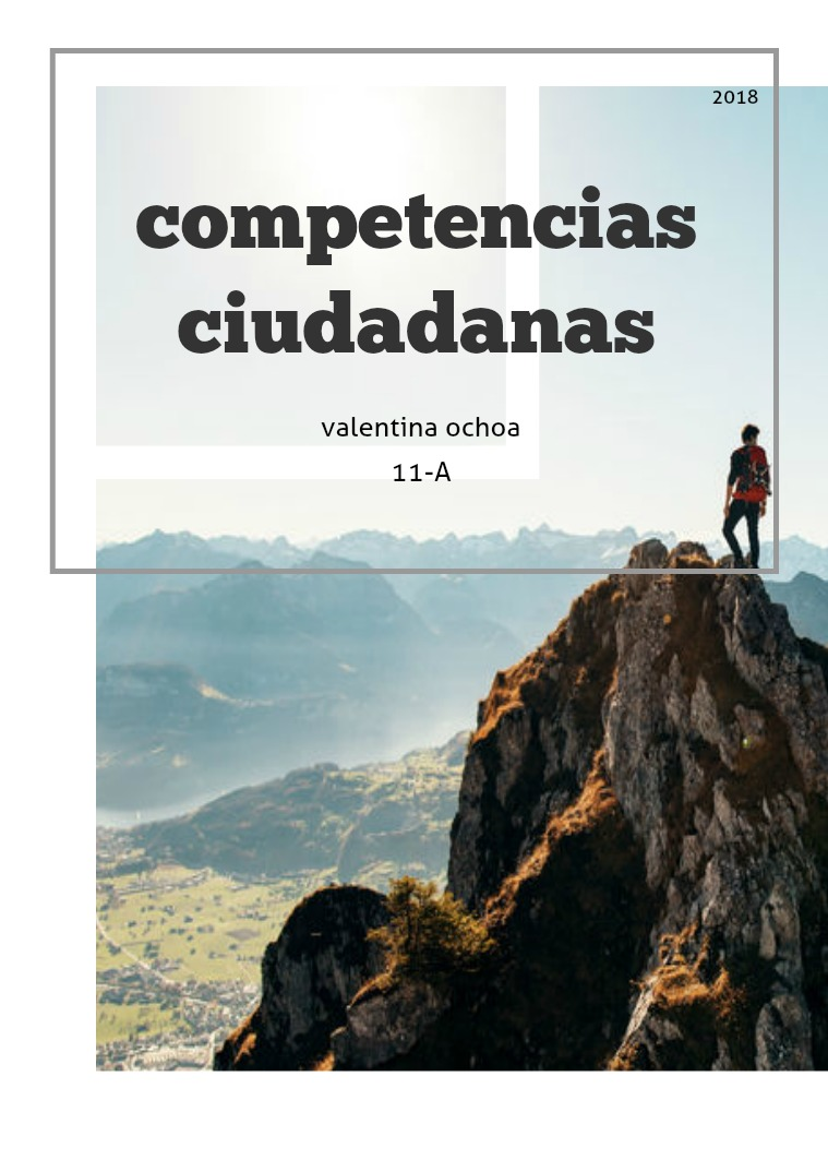 Competencias Ciudadanas competencias ciudadanas