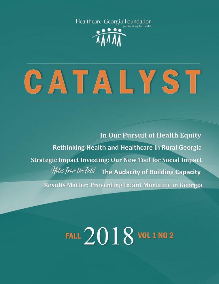 CATALYST - FALL 2018 VOL 1 NO 2