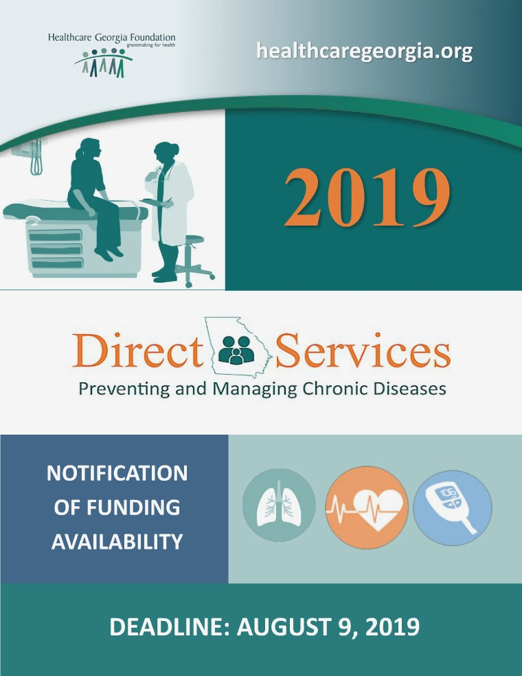 2019 Direct Services Grant Program NOFA 2019 Direct Services NOFA