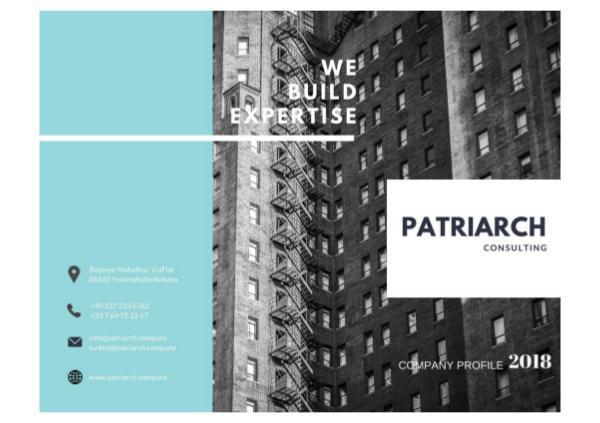 Patriarch Consulting - Company Profile Patrıarch consultıng - Profile.