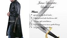 Jaime lannister leather coat
