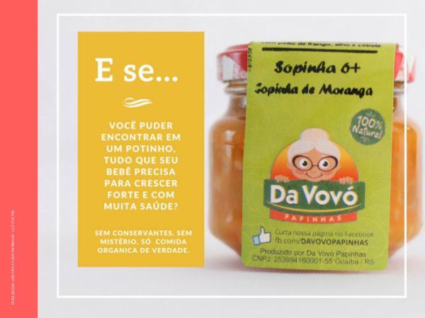 Catálogo DA VOVO PAPINHAS CATALOGO DA VOVO PAPINHAS