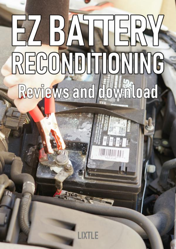 EZ Battery Reconditioning PDF Download – Course, Book Reviews EZ Battery Reconditioning PDF Download and Reviews