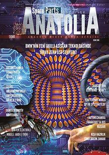 Anadolu Yedek Parça Dergisi Ekim Sayısı  2018