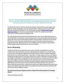 Autoimmune Disease Diagnosis Market by Products, Test Type, Disease