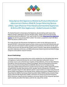 Sleep Apnea Oral Appliances Market by Type & Product - 2023