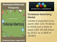 Contextual Advertising Market worth 297.68 billion USD by 2023