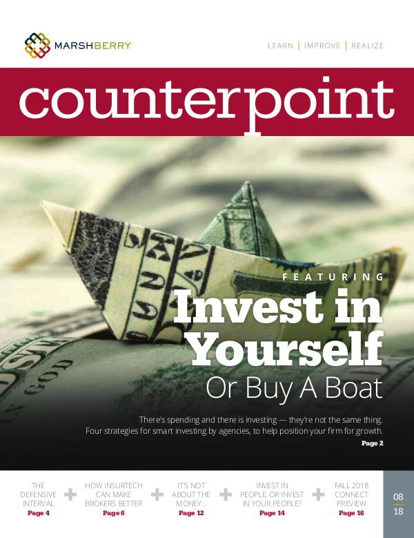 MarshBerry CounterPoint_Investments - August 2018 MarshBerry CounterPoint_Investments - August 2018