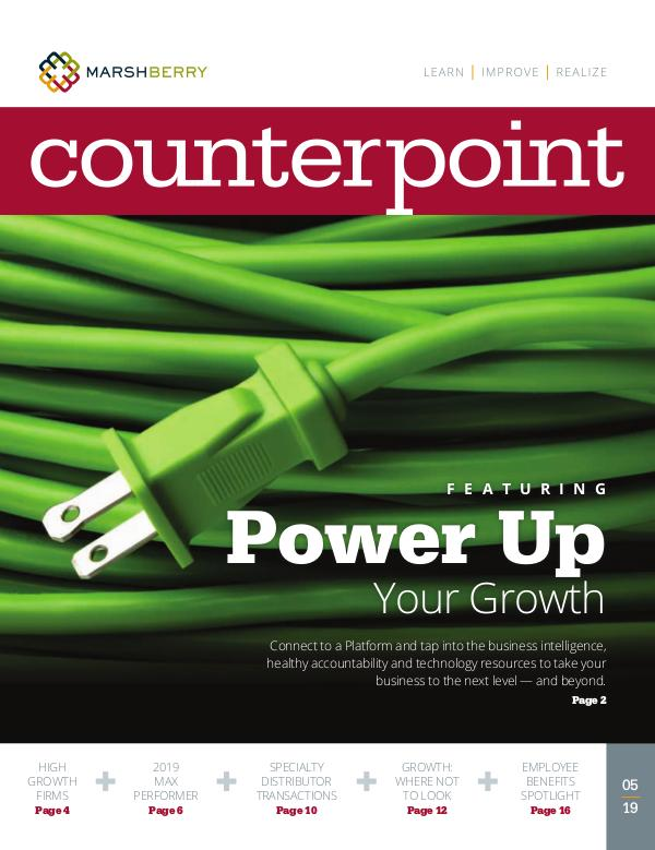 MarshBerry CounterPoint_Power Up Growth - MAY 2019 MarshBerry CounterPoint_Power Up Growth - MAY 2019