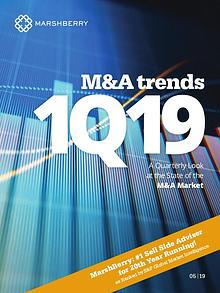 MarshBerry M&A Trends 1Q19