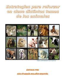 Estrategias para reforzar en clase distintos temas de animales