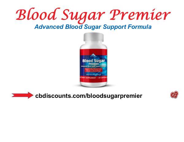 Blood Sugar Premier - Advanced Blood Sugar Support Formula Blood Sugar Premier