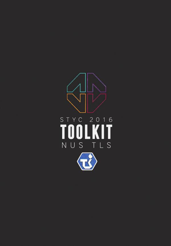 Singapore Tamil Youth Conference 2016 Toolkit Toolkit Final as of 17082016