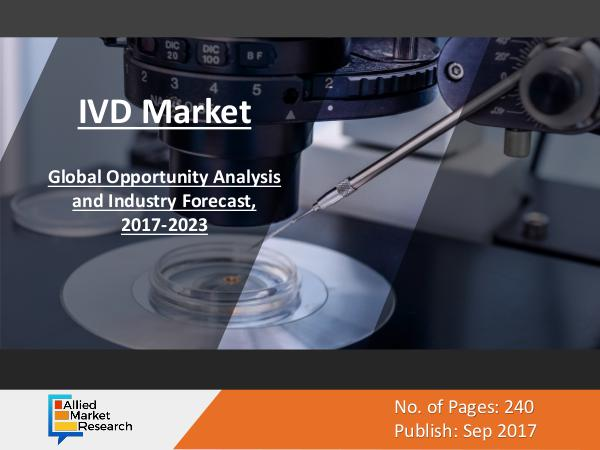 IVD Market to Experience Exponential Growth by 2023 IVD Market