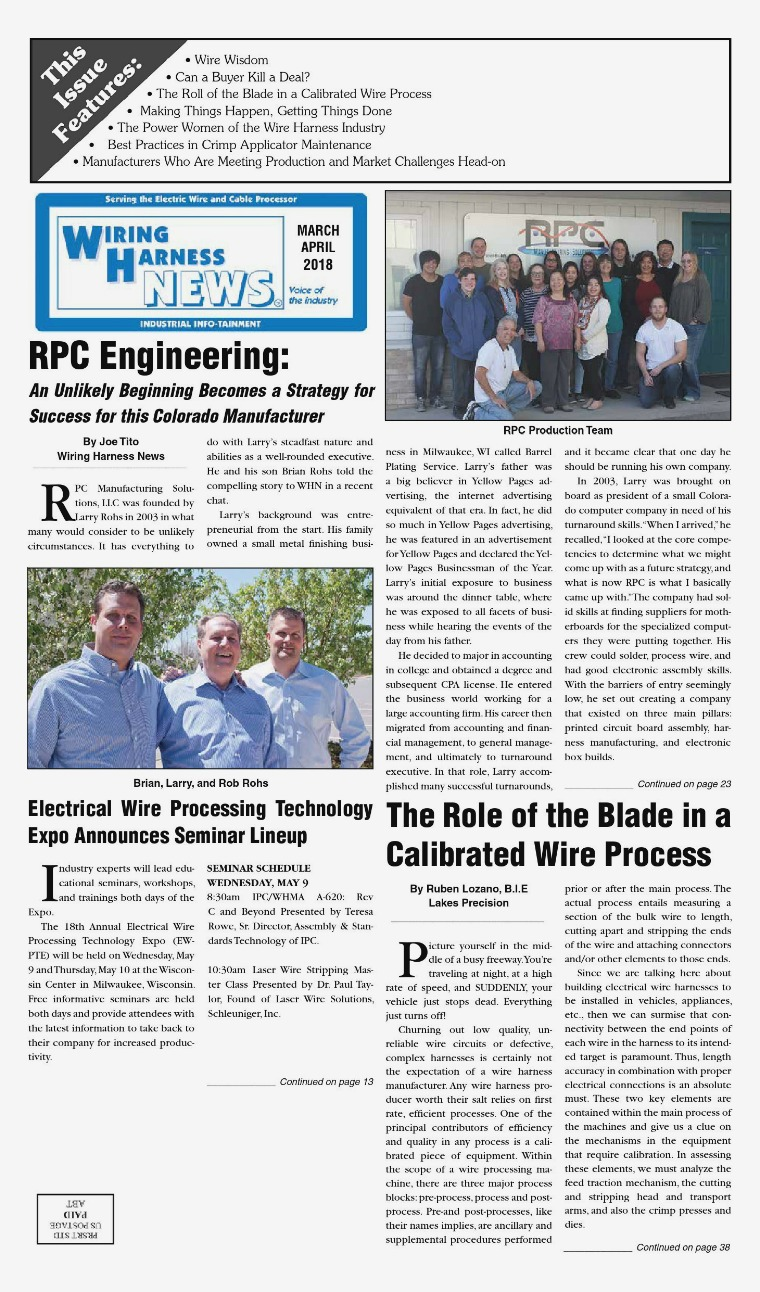 [WQZT_9871]  Digital Editions – Wiring Harness News | Rpc Wire Harness |  | Wiring Harness News