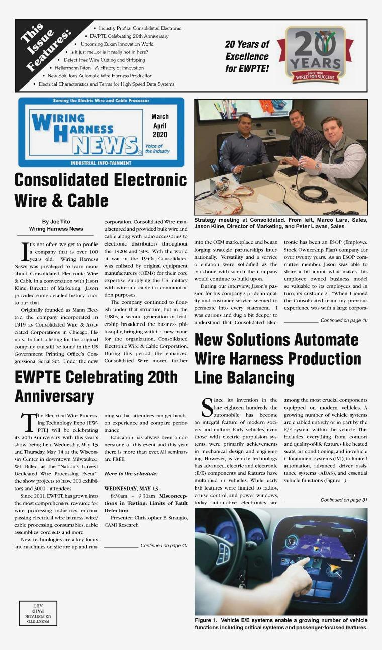 Wiring Harness News WHN Mar-Apr 2020